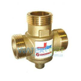 """Антиконденсатный трехходовой термостатический смесительный клапан GIACOMINI 1"""" (60 °C) Kv 3,2 - DN25"""