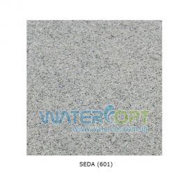 Мойка из искусственного камня Galati 86*50 Серый мрамор