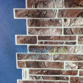 Листовые панели Сланец коричневый