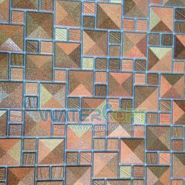 Листовые панели Мозаика Сахара золото