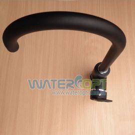 Смеситель для кухни черный матовый Hi-Non WKA-181