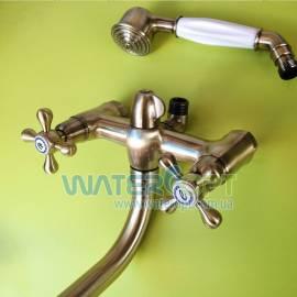 Смеситель для ванной бронза Mixxen РОМА MXAL0357