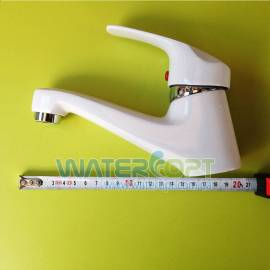 Смеситель для раковины белый Smack 8092-C