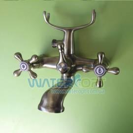 Смеситель для ванной бронза Mixxen РОМА MXAL0355