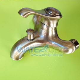 Смеситель для ванной бронза EMMEVI TIFFANY BR6001