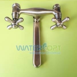 Смеситель для кухни настенный Haiba 361 Dominox Bronze