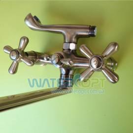 Смеситель для ванны бронза Haiba 143 Dominox