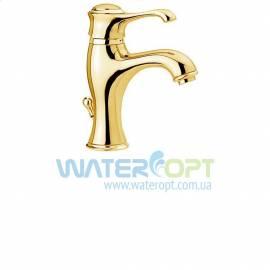Смеситель для раковины золотого цвета Emmevi Tiffany OR6003