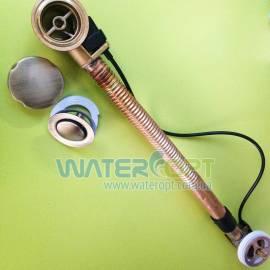 Сифон для ванны бронза Emmevi CO1311L BR 64см