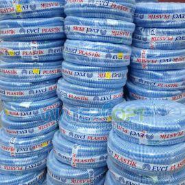 Шланг для полива Evci Plastik гофра сифоновая 25мм 25м