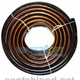 Шланг для полива Evci Plastik Радуга черная 3/4 18мм 50м