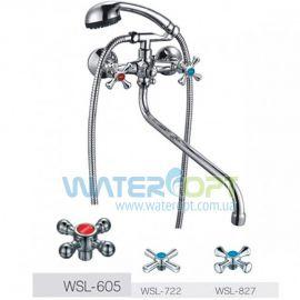 Смеситель для ванной Zerix DFR-A605