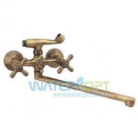 Смеситель для ванны ЕвроПродукт 143 Dominox Bronze