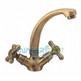 Смеситель для раковины ЕвроПродукт 272 Dominox Bronze