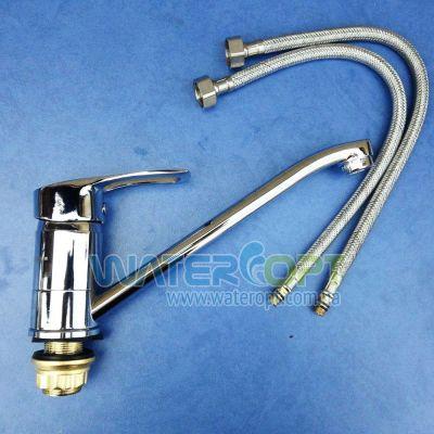 Смеситель для кухни G-Ferro Hansberg 555-20cm(z)