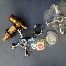 Комплект ручек для смесителя Smes керамика