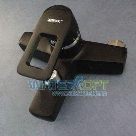 Смеситель для ванны черный Zerix Z3030-6