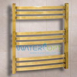 Полотенцесушитель водяной Дуэт Бронза 500*700