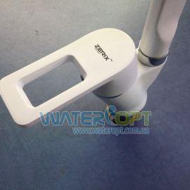 Смеситель для мойки белый Zerix Z5130-7