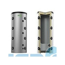 Аккумуляторный Бак Reflex HF 1500/2+2 змеевика с изоляцией (серый цвет)