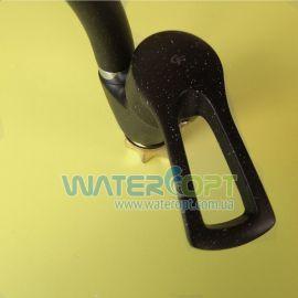 Смеситель для кухни черный мрамор GF-281