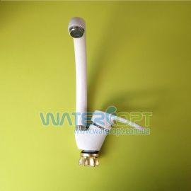 Смеситель для кухни белый мрамор GF-281