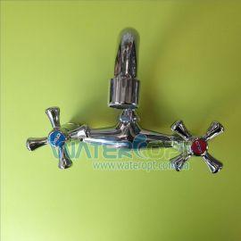 Смеситель для кухни настенный с изливом сверху Cron Smes 361 G