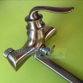 Смеситель для ванны бронза Zerix Z22219-2