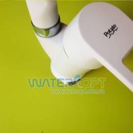 Смеситель для кухни белый Potato P5130-7
