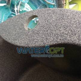 Мойка из искусственного камня 48*48 цвет серый