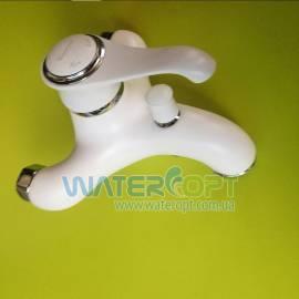 Смеситель для ванной белый EMMEVI TIFFANY Bio6001