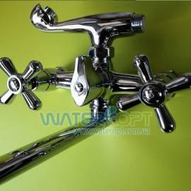 Смеситель для ванны Европродукт Dominox 150