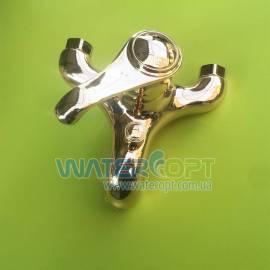 Смеситель для ванной золотого цвета Emmevi Tiffany OR6001