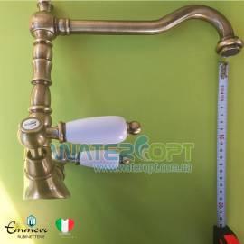 Смеситель для кухни бронза  Emmevi Deco Ceramica BR121613