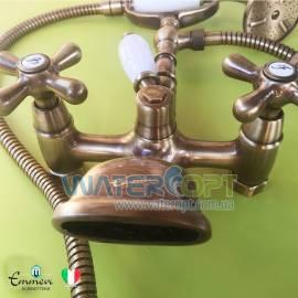 Смеситель для ванны бронза Emmevi Deco OLD BR12611