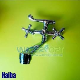 Смеситель для ванной Haiba Dominox 140 evro