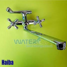 Смеситель для ванной Haiba Dominox 140