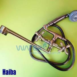 Смеситель для ванны бронза Haiba Dominox 143