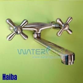 Смеситель для кухни настенный Бронза Haiba Dominox 361