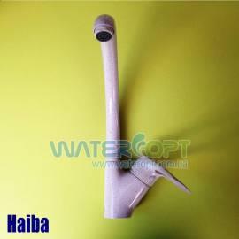Смеситель для кухни Haiba Hansberg 011 кремовый