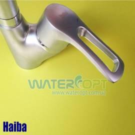 Смеситель для кухни Haiba Hansberg 011 Satin