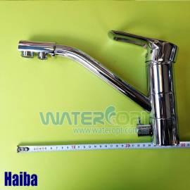 Смеситель для кухни с подключением к фильтру Haiba Hansberg 021