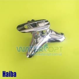 Смеситель для ванны с коротким изливом Haiba Disk