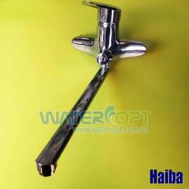 Смеситель для ванной Haiba Disk 006 evro