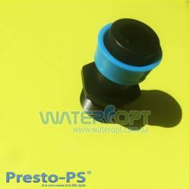 Старт для ленты туман 25мм с выходом 1 дюйм Presto-PS