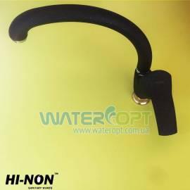 Смеситель для кухни черный мрамор Hi-Non KUA-279