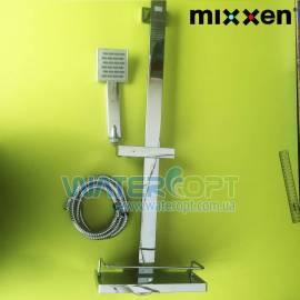 Душевая стойка с шлангом и лейкой Mixxen Kubus