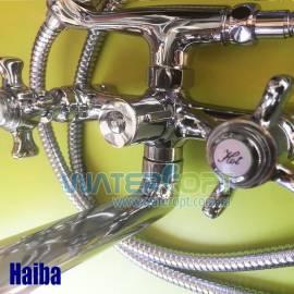 Смеситель для ванной с душем Haiba Zeus 142