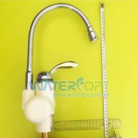 Проточный водонагреватель с гибким гусаком Zerix ELW-01-F