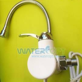 Проточный водонагреватель настенный и индикатором температуры Zerix ELW-02-EFW гибкий гусак